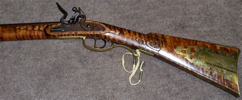 Handmade Flintlock Rifles - louis smith custom made flintlock