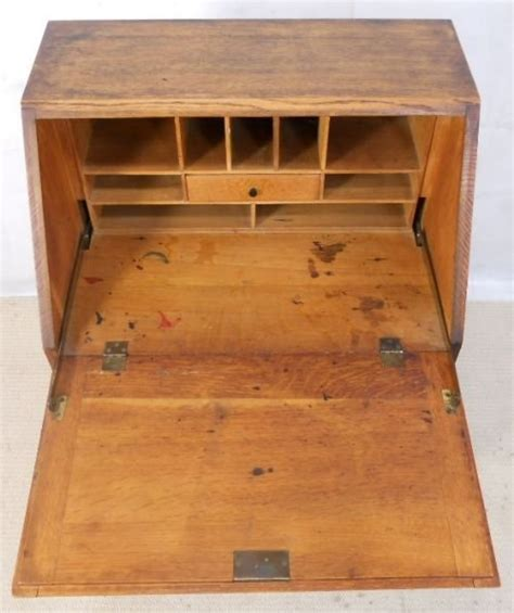 Small Bureau Desk Uk Small Solid Oak Writing Bureau Desk 154305 Sellingantiques Co Uk