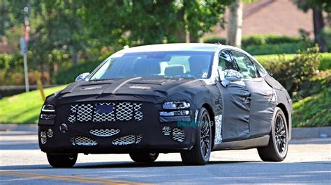 Hyundai Genesis G80 2020 by 2020 Genesis G80 Testing For The Time