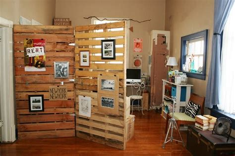 recycled bedroom ideas diy pallet room divider ideas pallet wood projects