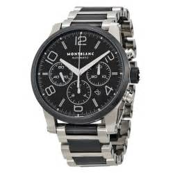 montblanc matic moon black montblanc timewalker steel and black ceramic chronograph