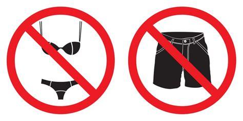 no short pants sign no swimsuit sign sticker pixers