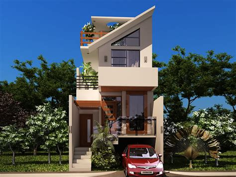 great small house designs small plot house with underground car parking great