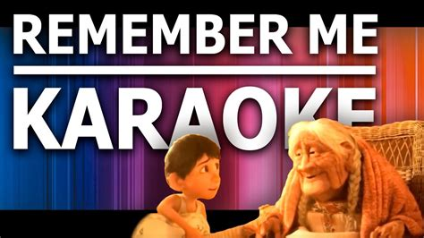 coco remember me mp3 remember me karaoke coco youtube