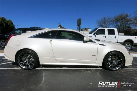 cadillac cts 20 inch wheels cadillac cts v coupe with 20in vossen vfs6 wheels