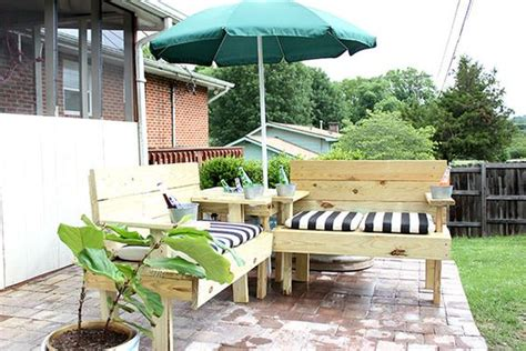 Patio Umbrella With Built In Fan Diy Outdoor Sectional With Built In Drink Coolers