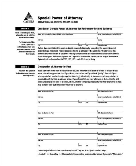sle power of attorney template special power of attorney for bank account matters in the