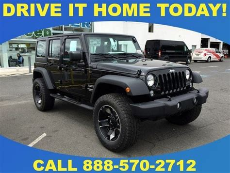 Used Jeep Wrangler For Sale Nj Lifted Jeep Wranglers For Sale Road Jeeps In Cherry