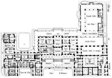 Versailles Floor Plan by En Route Pour L Elys 233 E Paris 1900