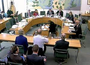 House Select Committee by Sir David Nicholson Tells Mps He S Absolutely Determined
