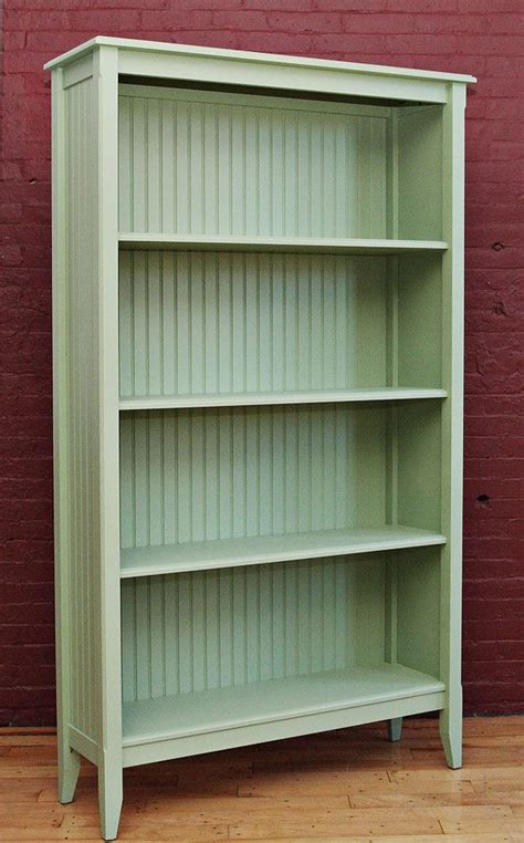Green Bookcase green hemlock vintage bookcase trend colors 2014