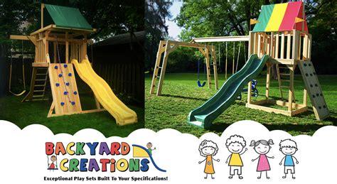 Backyard Creations Woodland Outdoor Playsets Backyard Creations Wood Playsets