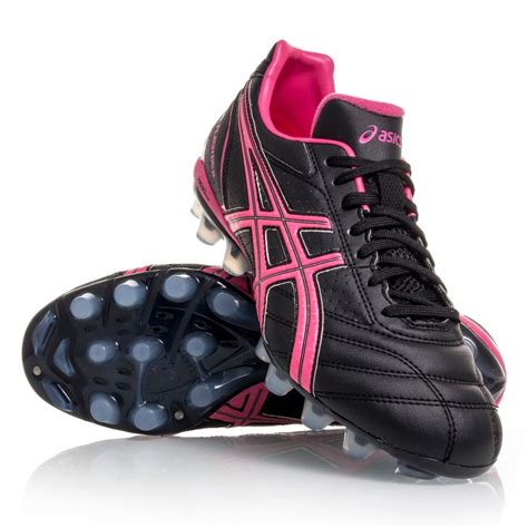 womens football shoes asics lethal flash ds 2 it womens football boots black