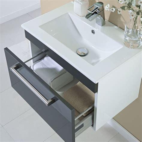 vanity units kleine badezimmer die besten 25 graue waschtischeinheit ideen auf