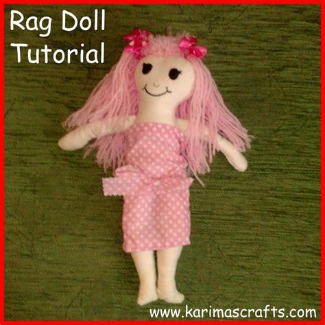 Handmade Doll Tutorial - 25 unique rag doll tutorial ideas on fabric