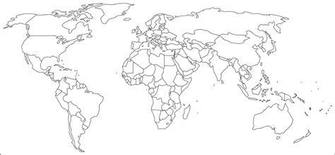 blind map of europe europe