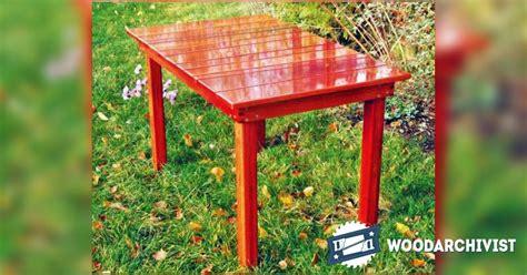 Garden Table Planter by Garden Table Plans Woodarchivist