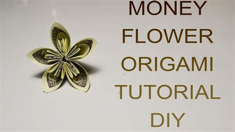 Origami Money Flower Tutorial - origami money flower tutorial 28 images tips for a