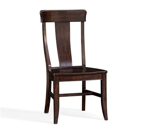 Pottery Barn Dining Chairs Wilton Side Chair Pottery Barn
