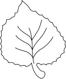 Tree Outline With Leaves by Leaf Outline Tree Outline With Leaves Clipart 5 Wikiclipart