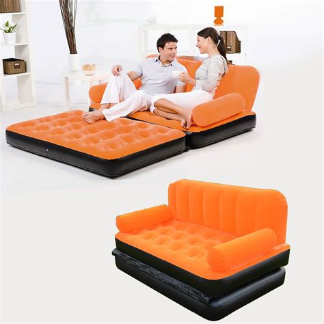 Inflatable Pull Out Sofa Couch Full Double Air Bed Mattress For Pull Out Sofa Bed