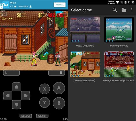 android snes emulator the best nintendo emulators for android