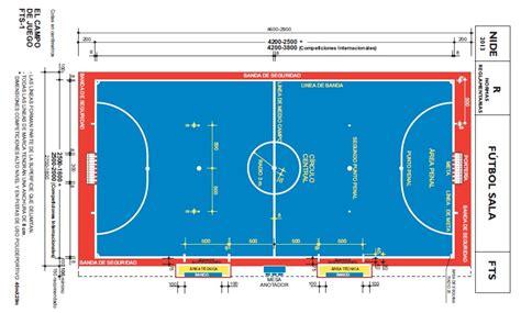 dimensiones pista futbol sala dimensiones de la pista azul elche f 250 tbol sala