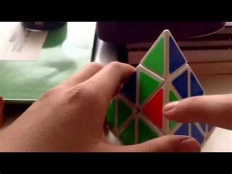 comment faire le cube rubik triangle facilement youtube