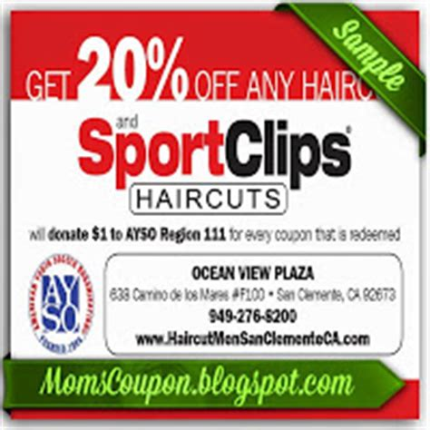 mvp haircuts coupons get sport clips coupons 2015 25 off mvp free