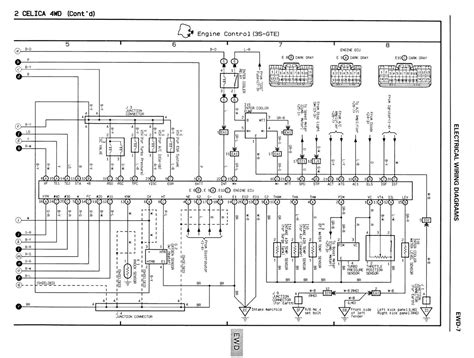 toyota mr2 radio wiring diagram free image