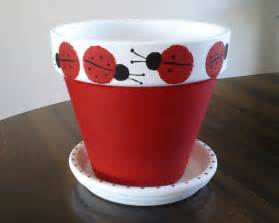 Ideas painted flower pots artsy crafty ideas claypot cotta can