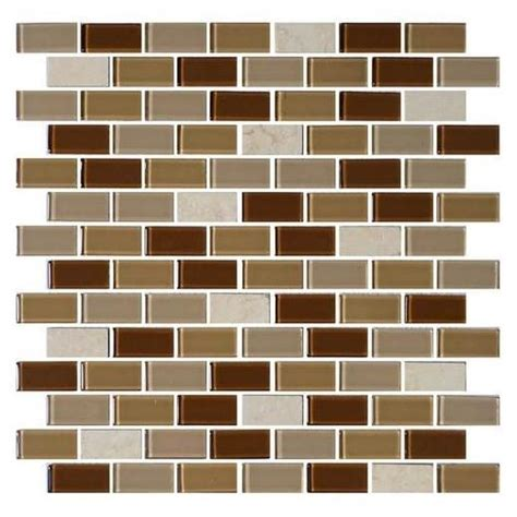 1 x 2 brick joint floor tile buy daltile mosaic traditions tile caramelo 3 4 x 1 1 2