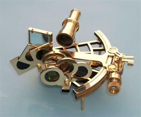 sextant rolls premium quality c plath reproduction brass sextant from