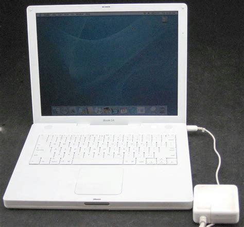 Laptop Apple Ibook G4 apple ibook g4 a1055 1 0ghz 1 2mb ram 60gb hdd laptop