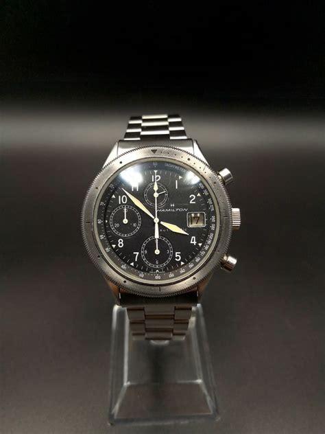 hamilton khaki lancaster chronograph  reserve price heren   catawiki