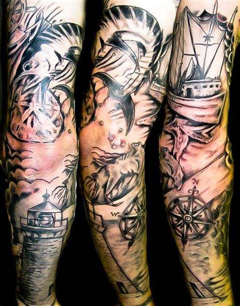 gulf coast tattoo sleeve tattoos petersburg fl artist fufred