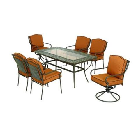 Martha Stewart Patio Dining Set 349 00 Martha Stewart Living Mallorca Ii 7 Patio Dining Set Dealepic