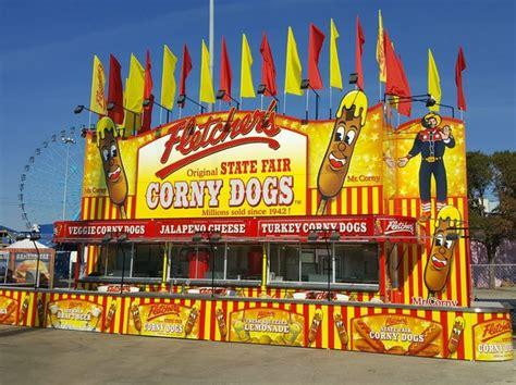 fletcher s corny dogs fletcher s corny dogs unveils retro concession at 2016 state fair culturemap dallas
