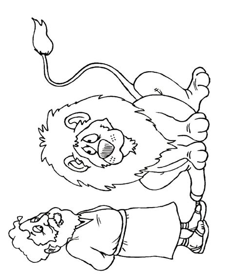 Daniel In The Lion Den Coloring Pages Coloring Home Daniel And The Coloring Pages