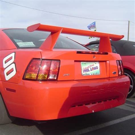 mustang cobra spoiler mustang cobra r rear spoiler fiberglass 99 04 tf10023 dca34