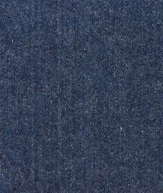 washed navy blue upholstery denim fabric