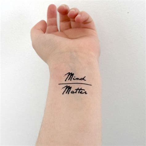 mind over matter tattoo designs best 25 mind matter ideas on