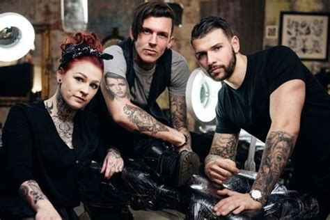 Tattoo Fixers London | ed sheeran s tattooist kevin paul says star s new ink will