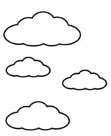 printable cloud coloring pages coloring