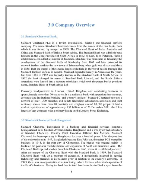 Standard Chartered Bank Letterhead Format Mbti Reseach Paper In Standard Chartered Bank