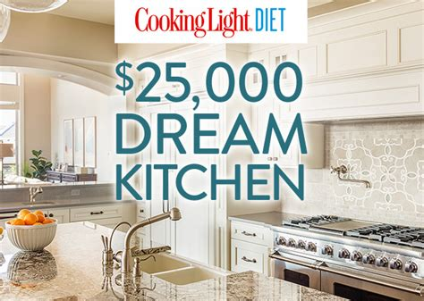 Cooking Light Sweepstakes - cooking light diet enter for a chance to win a 25 000 dream kitchen cooking light
