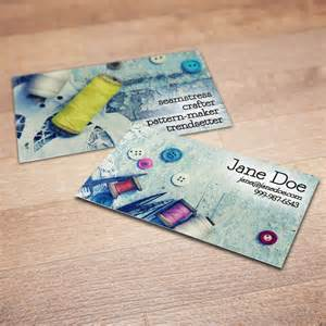 sewing business cards 100 custom sewing business cards a stitch in time