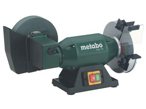 wet bench grinder metabo tns175 240v 500w bench grinder and wet stone