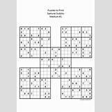 Sudoku Medium Difficulty   720 x 1040 gif 50kB