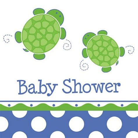 Turtles Baby Shower by Turtle Baby Shower Luncheon Napkins
